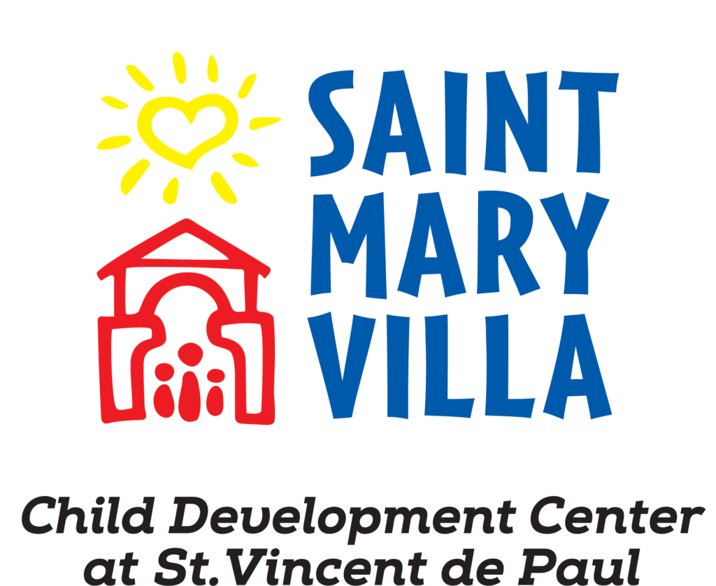St. Mary Villa Child Development Center Logo Reversed